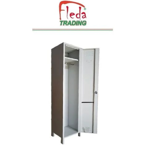 armoire vestiaire casier metallique 1 porte profondeur 34 cm dim 36x34x180