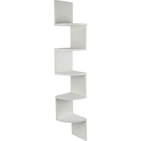 etagere d angle bois etagere murale blanche etagere meuble d angle suspendue