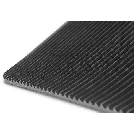 tapis caoutchouc strie 10m x 1 2m x 3mm mw tools frsrm1200
