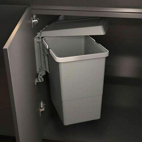 poubelle de porte pivotante a ouverture