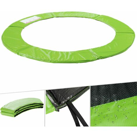 arebos coussin de protection des ressorts pour trampoline 183 cm vert clair hellgrun