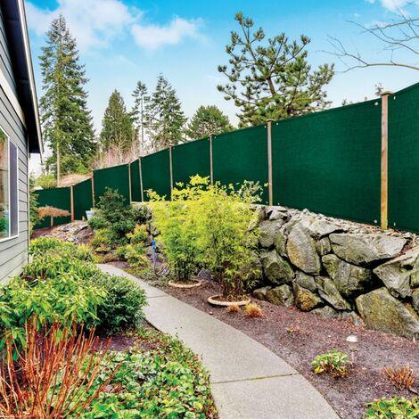 brise vue renforce 1 80 x 10 m vert 220 gr m luxe pro