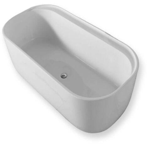 baignoire ilot ovale en acrylique 150