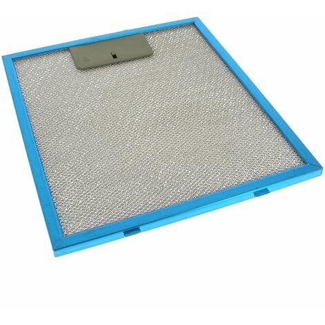 filtre graisse metal 230x260 pour hotte glem