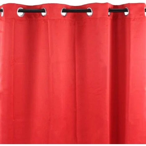 occultant rideau occultant rouge 140x250 rouge