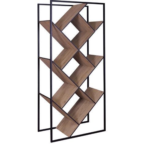 design bois et metal noir taula
