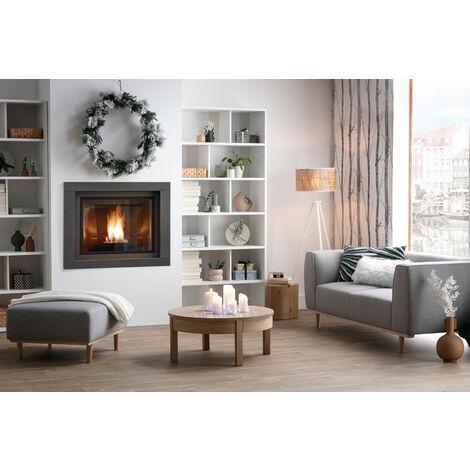 bibliotheque design bois blanc epure