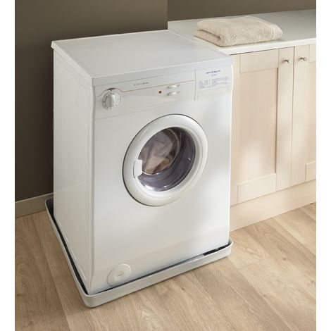 tapis de retention d eau et antivibration pour machine a laver a chargement frontal