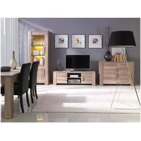 led meuble tv buffet bas et