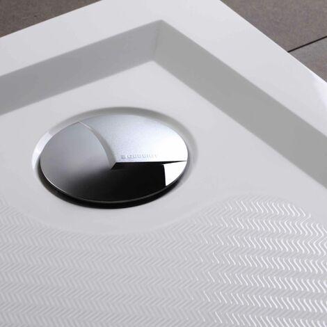 receveur de douche en resine 80x80 extra plat klio
