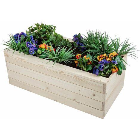 jardiniere bois rectangulaire a prix mini