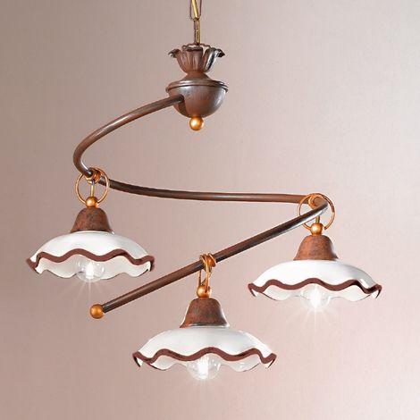 Trova una vasta selezione di lampadario rustico a prezzi vantaggiosi su ebay. Lampadario Ceramica Al Miglior Prezzo