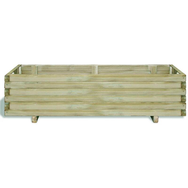 120 x 40 x 30 cm bois rectangulaire