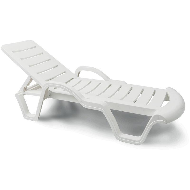 lits de piscine chaises longue en plastique professionels bain de soleil promo lot de 18 pieces