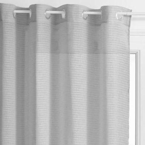 rideaux voilage gris a prix mini