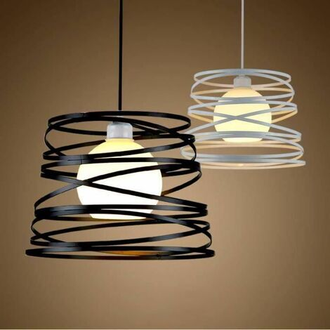 Lustre Suspension industrielle Mtal Rtro vintage  32cm