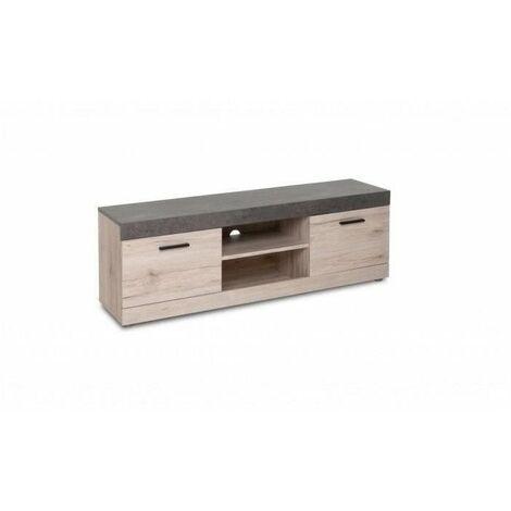 meuble tv effet beton a prix mini