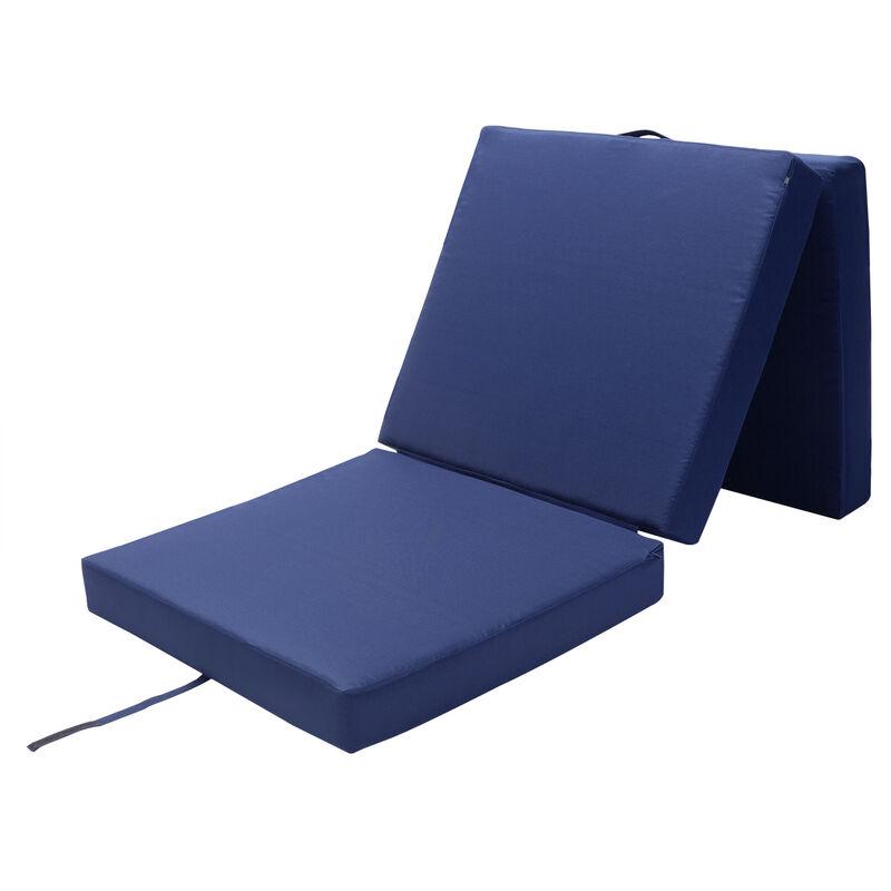 matelas pliant de voyage matelas d appoint pliable lit futon pouf pliant avec housse 190x70x10 cm