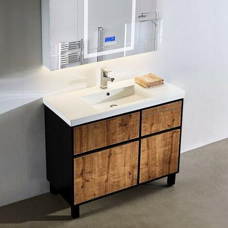 meuble salle de bain avec panier a prix