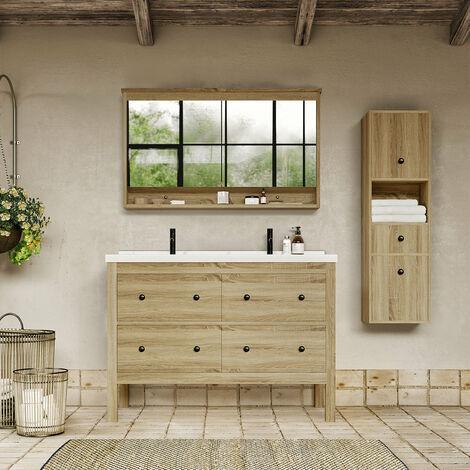 meuble salle de bain vintage a prix mini