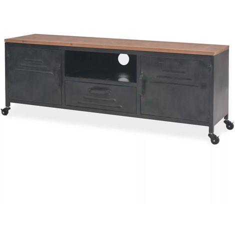 meuble tv industriel a prix mini