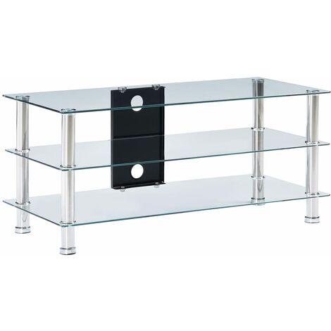meuble tv en verre a prix mini