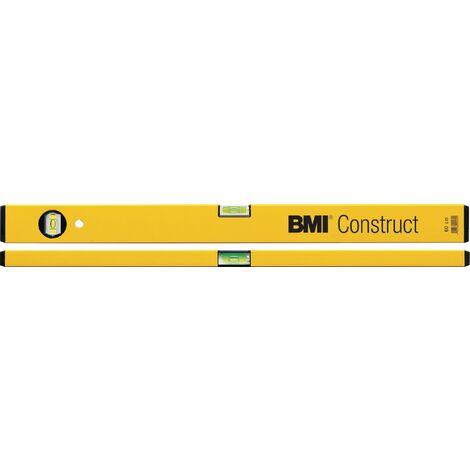 Niveau à bulles 689 Construct 60 cm aluminium jaune ± 1mm/m - 689060PGELBECO