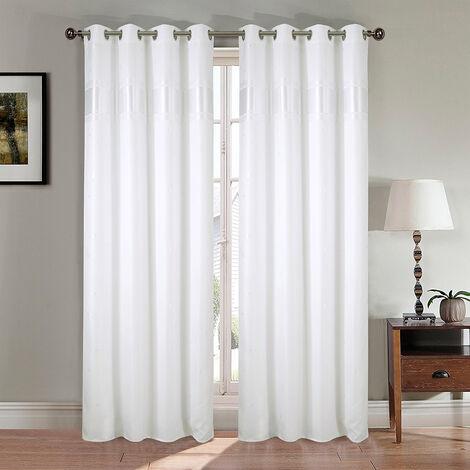 rideau occultant blanc a prix mini