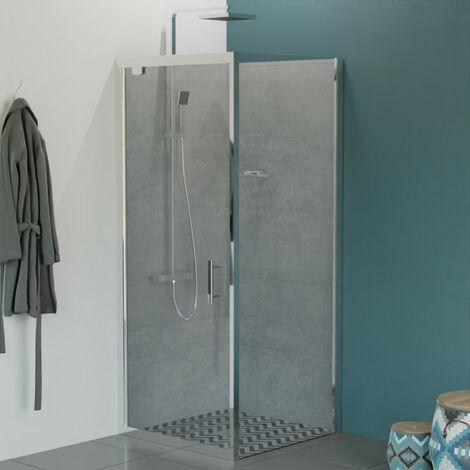 porte de douche angle 80 a prix mini