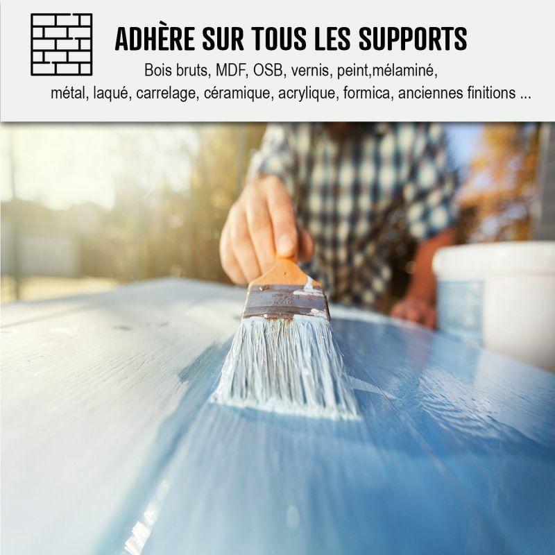 peinture meuble cuisine stratifie melamine epoxy
