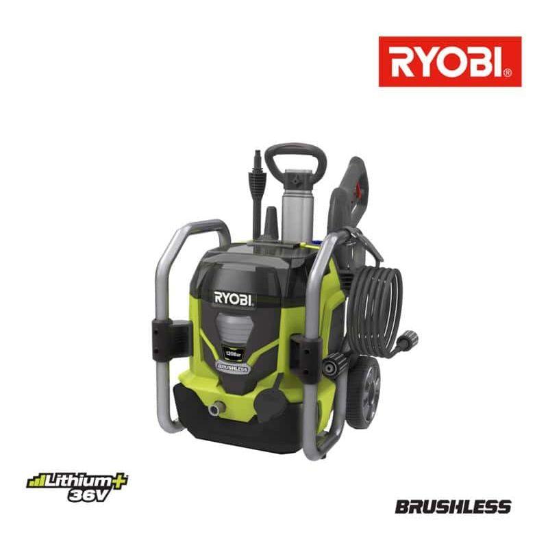 Pressure Washers Ryobi 36v Brushless Motor Lithiumplus Rpw36120hi 5133002832