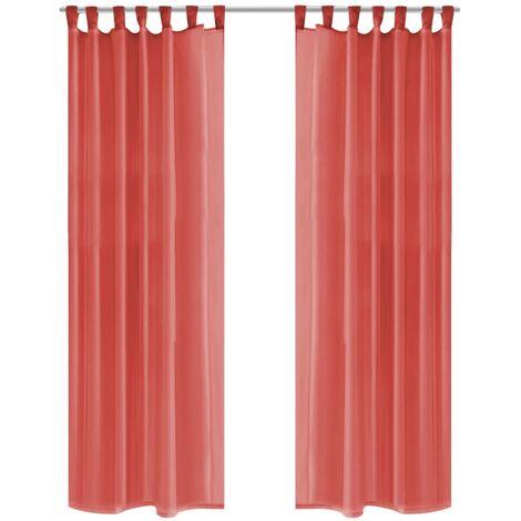 rideau occultant rouge a prix mini
