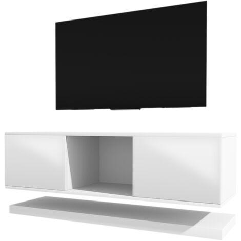 meuble tv suspendu 140 a prix mini