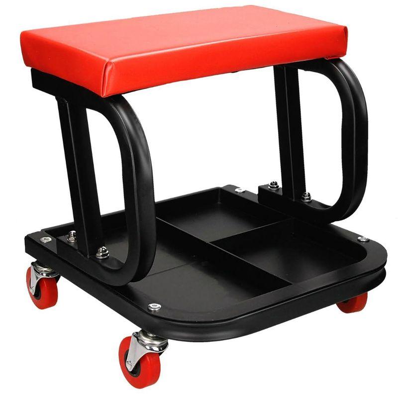 siege de mecanicien tabouret a roulettes chariot de visite garage coussin chaise