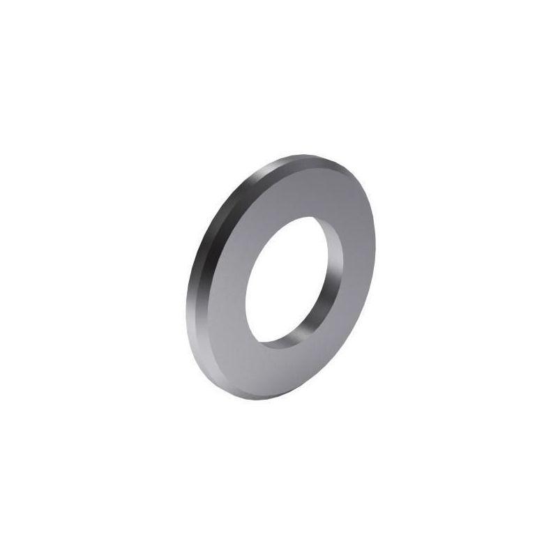 Single chamfer plain washer DIN 125-1B Steel 140HV Zinc