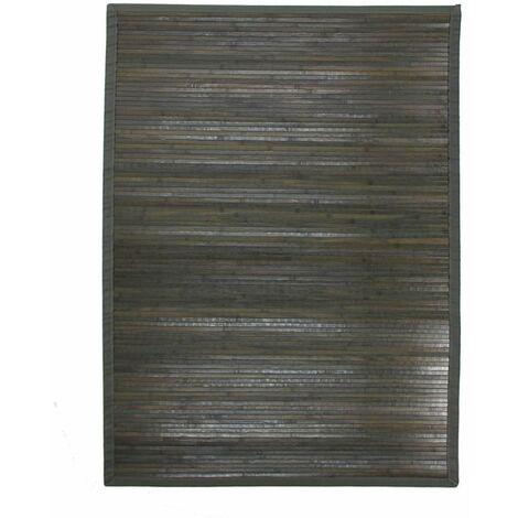 tapis bambou gris a prix mini