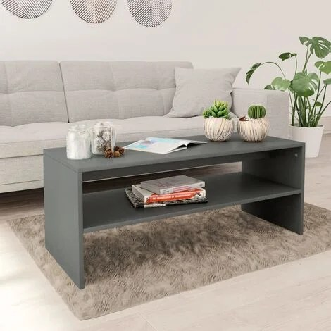 table basse gris a prix mini