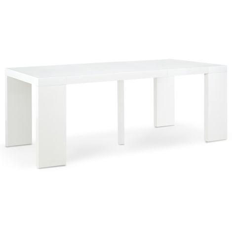 Table Extensible Blanche A Prix Mini