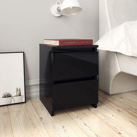 Table De Chevet Noire A Prix Mini