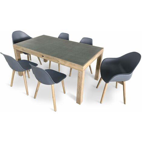 table et chaise scandinave a prix mini