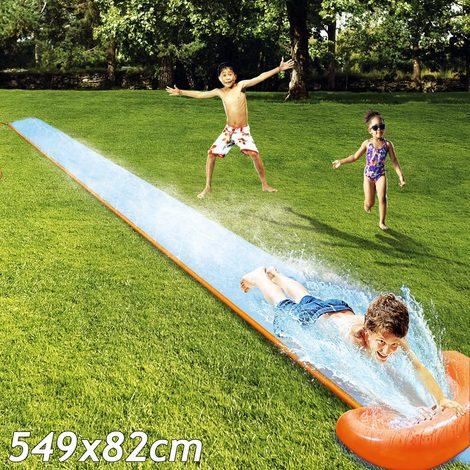 bleu orange bestway h20 go toboggan a