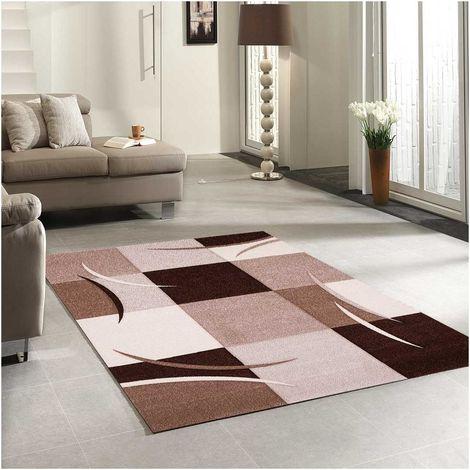tapis salon moderne de createur diamond comma