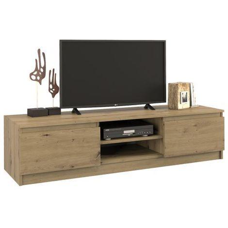 tivoli meuble bas tv contemporain