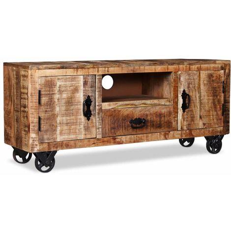 meuble tv style industriel a prix mini