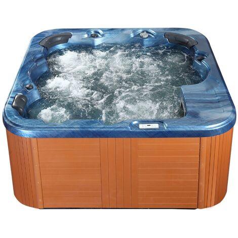 Vasca idromassaggio da esterno riscaldata blu SANREMO  16939