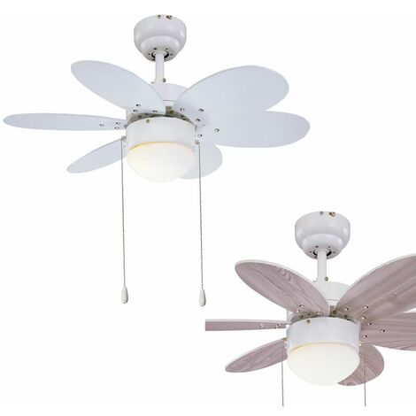 Johnson lustra meraviglioso ventilatore a soffitto con pale retrattili lampadari. Lampadario Con Pale E Telecomando Al Miglior Prezzo