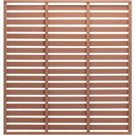 Pannelli divisorio/barriera frangi vista 1m x 1m. Pannelli Divisori Legno Giardino Al Miglior Prezzo