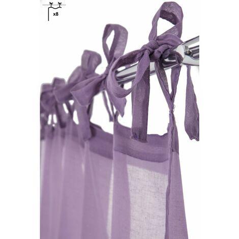 voilage violet a prix mini