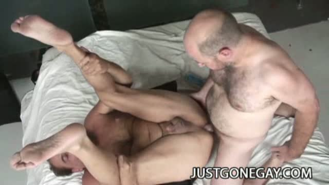 Hardcore Grandpa Sex  Gay  These horny grandpas are just as
