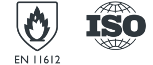 EN ISO 11612 technical fabric for protective clothing (PPE